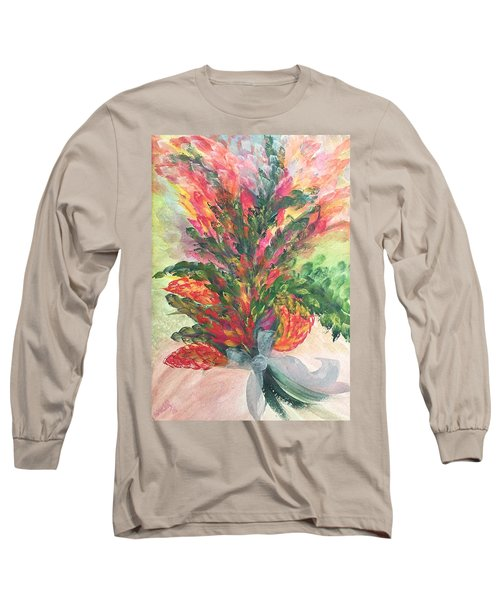 Bouquet And Ribbon Long Sleeve T-Shirt