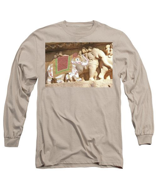 Caparisoned Elephants  Long Sleeve T-Shirt
