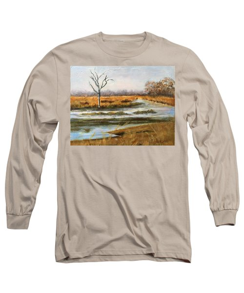 Early Spring On The Marsh Long Sleeve T-Shirt