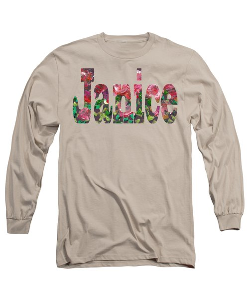 Janice Long Sleeve T-Shirt