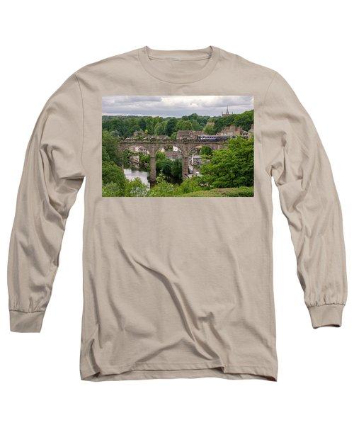 Knaresborough Viaduct  Long Sleeve T-Shirt