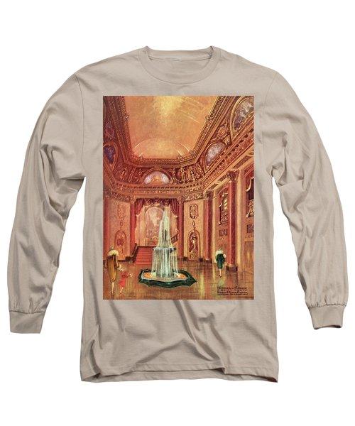 Mastbaum Theatre Long Sleeve T-Shirt