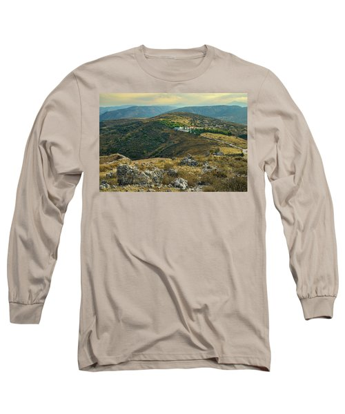 Monastery Agion Anargiron Above Argos Long Sleeve T-Shirt