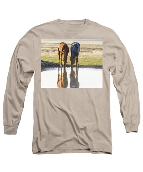 Long Sleeve T-Shirt featuring the photograph Reflection by Mary Hone