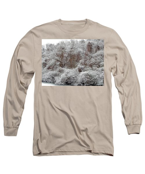 Long Sleeve T-Shirt featuring the photograph The Forest Hush by Lynda Lehmann