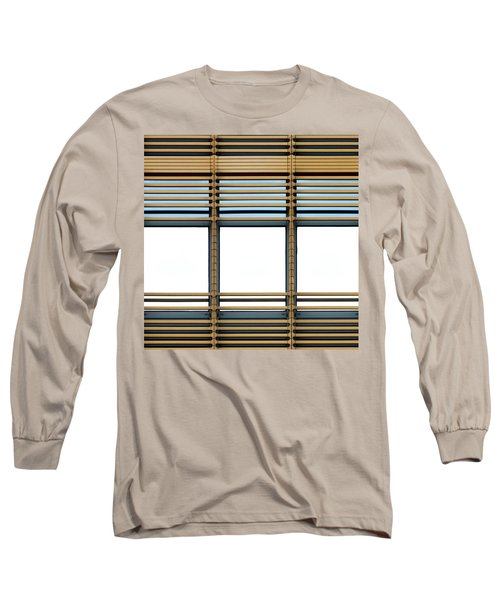White Windows Long Sleeve T-Shirt