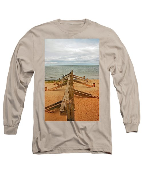 19/08/13 Edinburgh, Poetobello. The Shore And Groynes. Long Sleeve T-Shirt