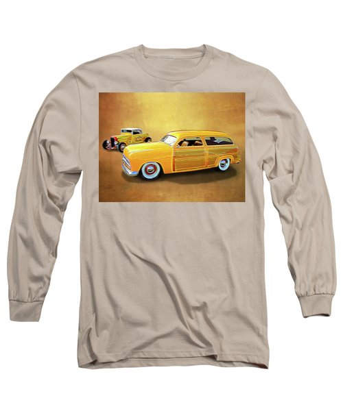 1949 Woody And 1932 Roadster Long Sleeve T-Shirt