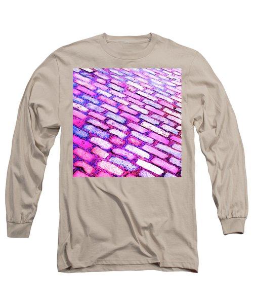 Diagonal Street Cobbles Long Sleeve T-Shirt