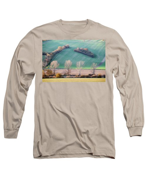 Long Sleeve T-Shirt featuring the photograph Autumn In South Moravia 2 by Dubi Roman