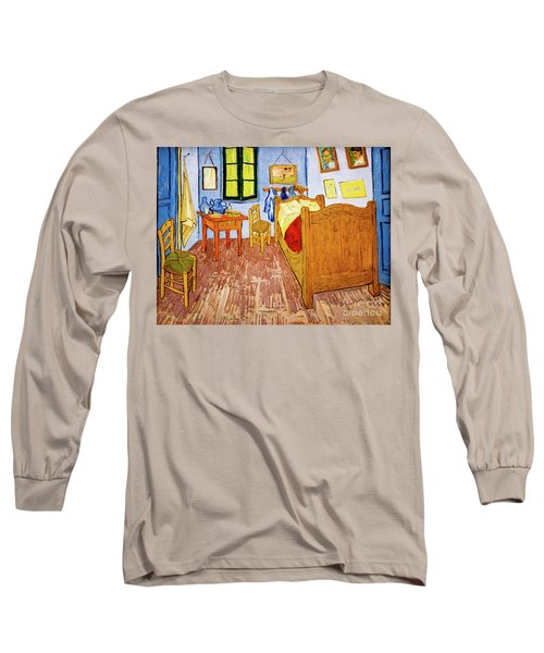 Van Gogh's Bedroom At Arles Long Sleeve T-Shirt