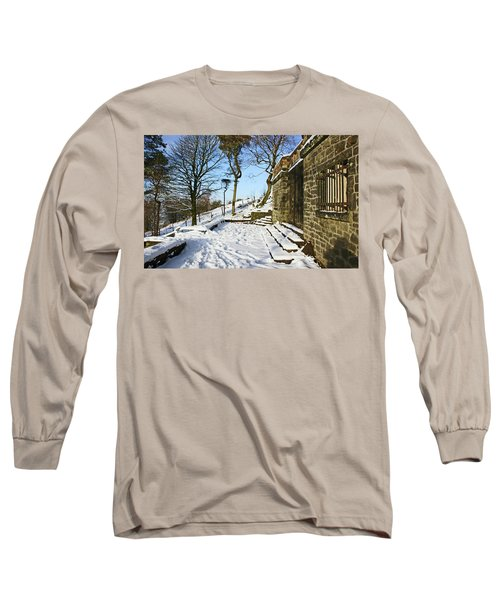30/01/19  Rivington. Summerhouse In The Snow. Long Sleeve T-Shirt