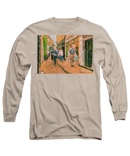 A Day At The Shops Long Sleeve T-Shirt