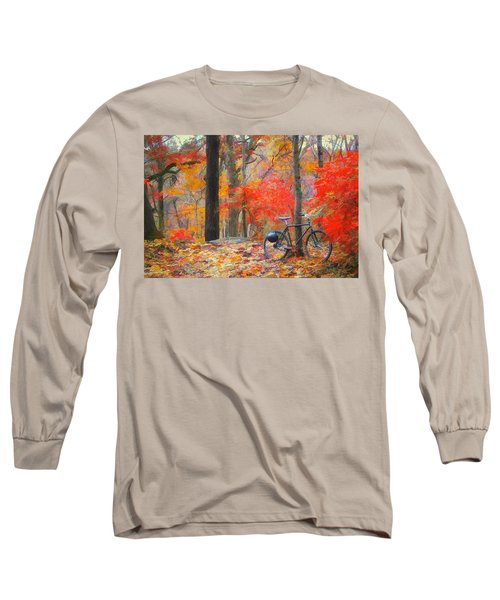 A Nice Place To Stop Long Sleeve T-Shirt