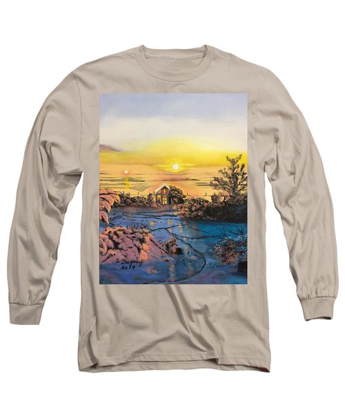 A Perfect Prairie Morning  Long Sleeve T-Shirt