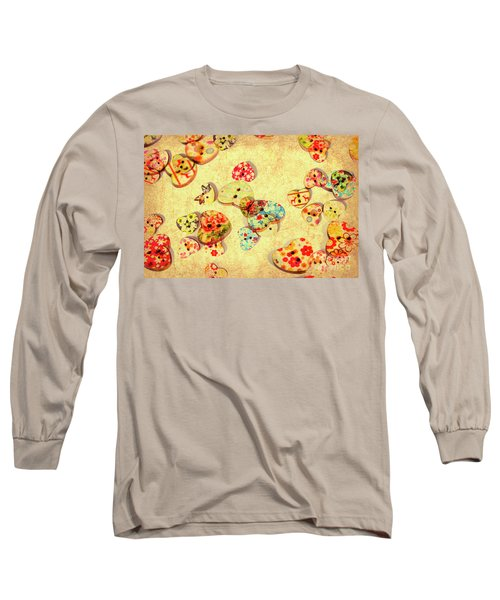 A Weathered Tailors Abstract Long Sleeve T-Shirt