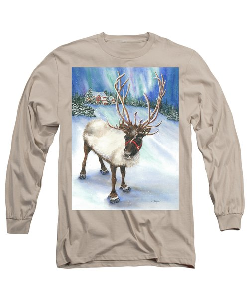 A Winter's Walk Long Sleeve T-Shirt