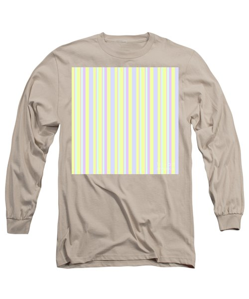 Abstract Fresh Color Lines Background - Dde595 Long Sleeve T-Shirt