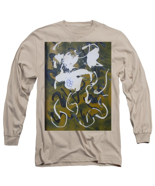 Abstract Human Figure Long Sleeve T-Shirt