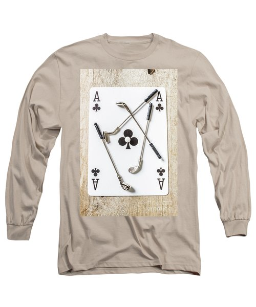 Ace Of Clubs Long Sleeve T-Shirt