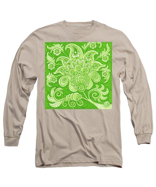 Alien Bloom 4 Long Sleeve T-Shirt