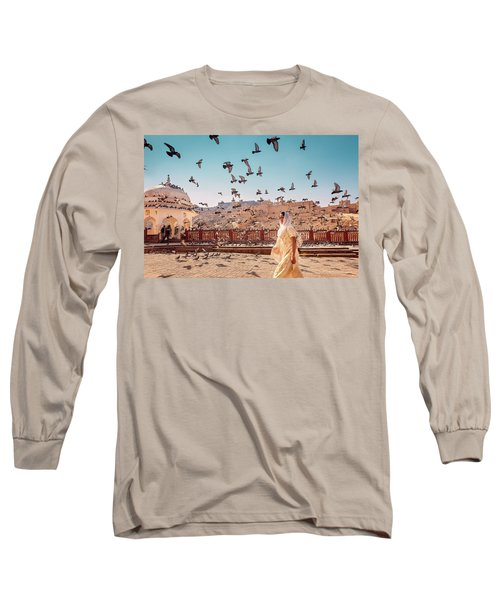 Amber Fortress Long Sleeve T-Shirt