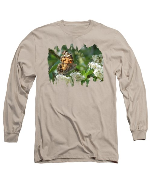 American Painted Lady Long Sleeve T-Shirt