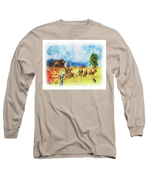 Amish Life Long Sleeve T-Shirt