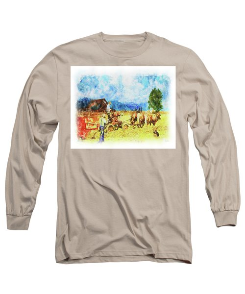 Amish Life Long Sleeve T-Shirt