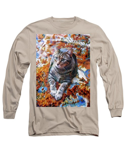Amos In Flowers Long Sleeve T-Shirt