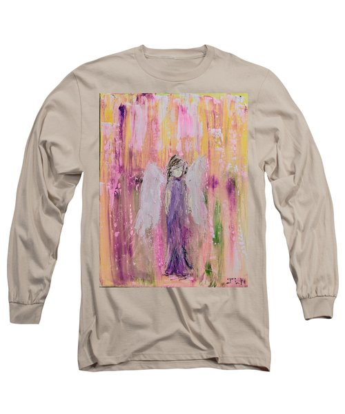 Angel In  Paradise Long Sleeve T-Shirt