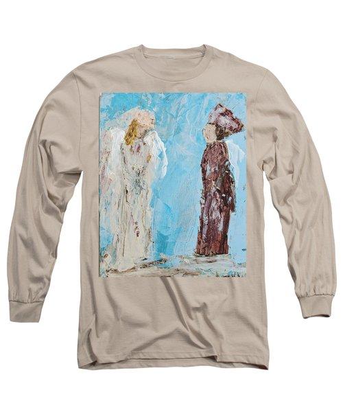 Angel Of Wisdom Long Sleeve T-Shirt