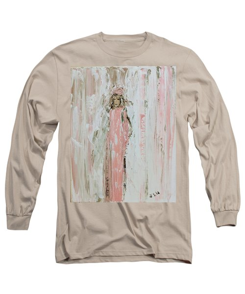 Angels In Pink Long Sleeve T-Shirt