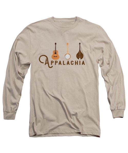 Appalachia Mountain Music White Mountains Long Sleeve T-Shirt