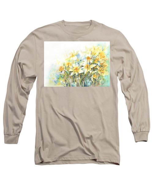 April Yellows Long Sleeve T-Shirt