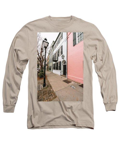 Around The Street Lamp Long Sleeve T-Shirt