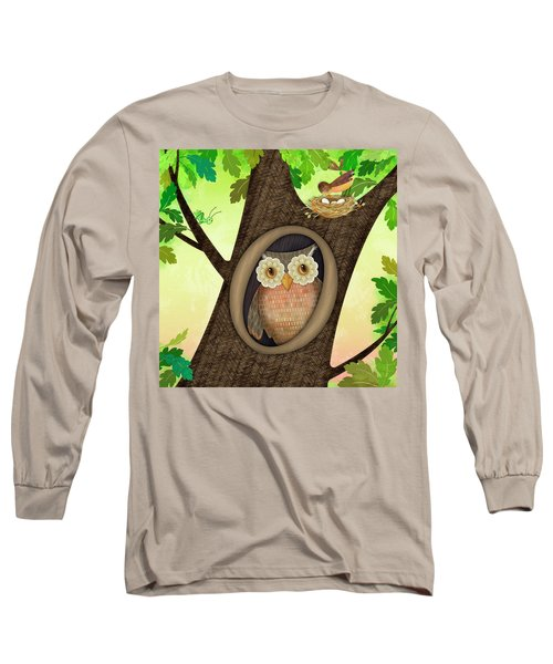 O Is For Owl Long Sleeve T-Shirt
