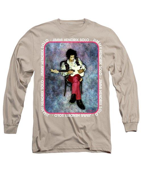 Jimi Hendrix Solo Long Sleeve T-Shirt