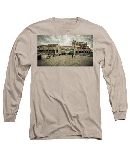 Asbury Park Convention Hall Long Sleeve T-Shirt