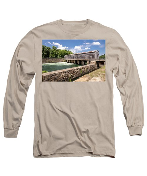 Augusta Canal Headgates - Augusta Ga Long Sleeve T-Shirt