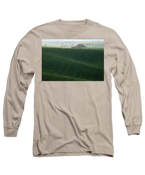 Long Sleeve T-Shirt featuring the photograph Autumn In South Moravia 11 by Dubi Roman
