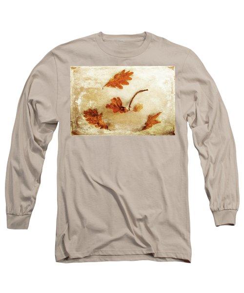 Long Sleeve T-Shirt featuring the photograph Autumn Twist by Randi Grace Nilsberg