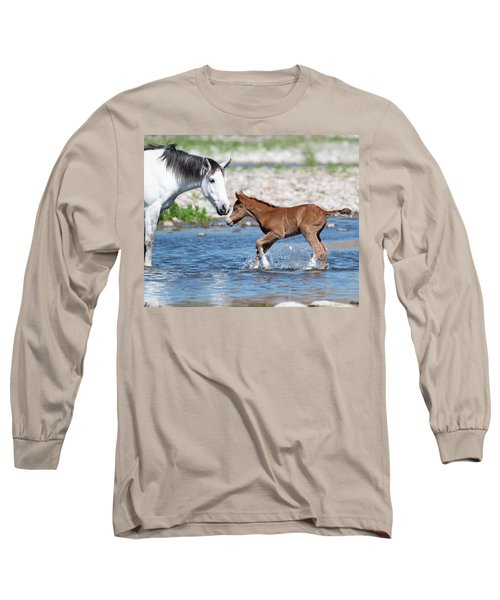 Baby's First River Trip Long Sleeve T-Shirt