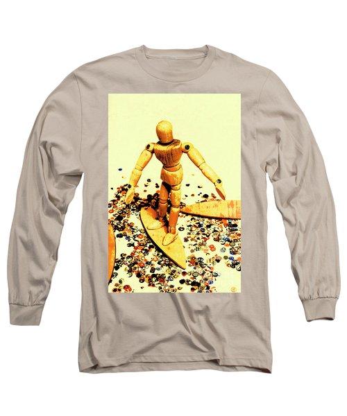 Balsa Boarder 1970 Long Sleeve T-Shirt