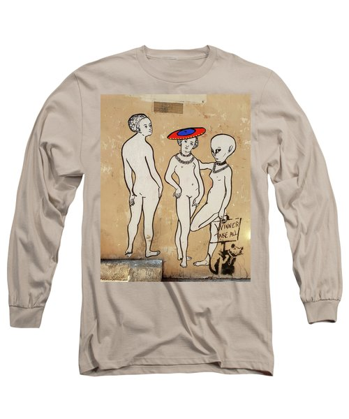 Banksy Paris Winner Take All Long Sleeve T-Shirt