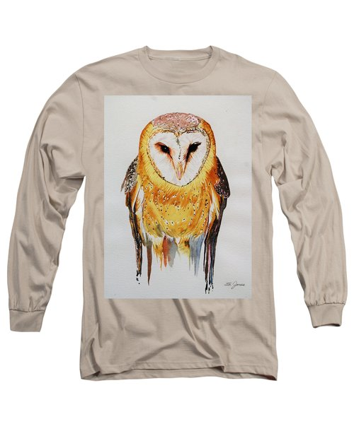 Barn Owl Drip Long Sleeve T-Shirt