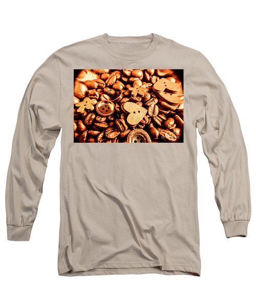 Beans And Buttons Long Sleeve T-Shirt