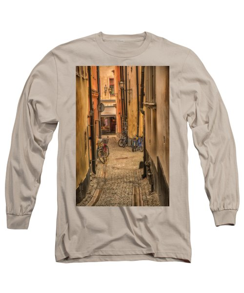 Bicycle Alley Long Sleeve T-Shirt