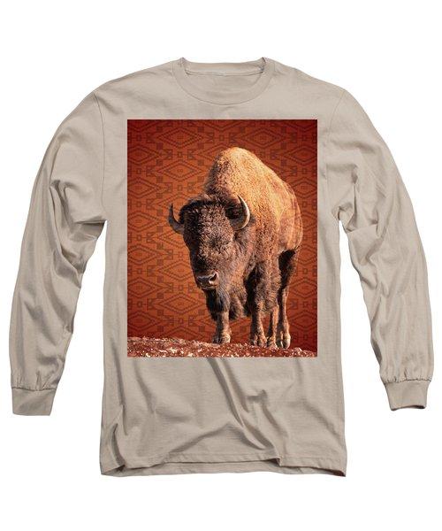 Bison Blanket Long Sleeve T-Shirt