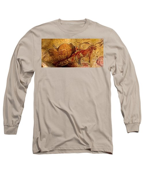 Bisons Horses And Other Animals Closer Long Sleeve T-Shirt